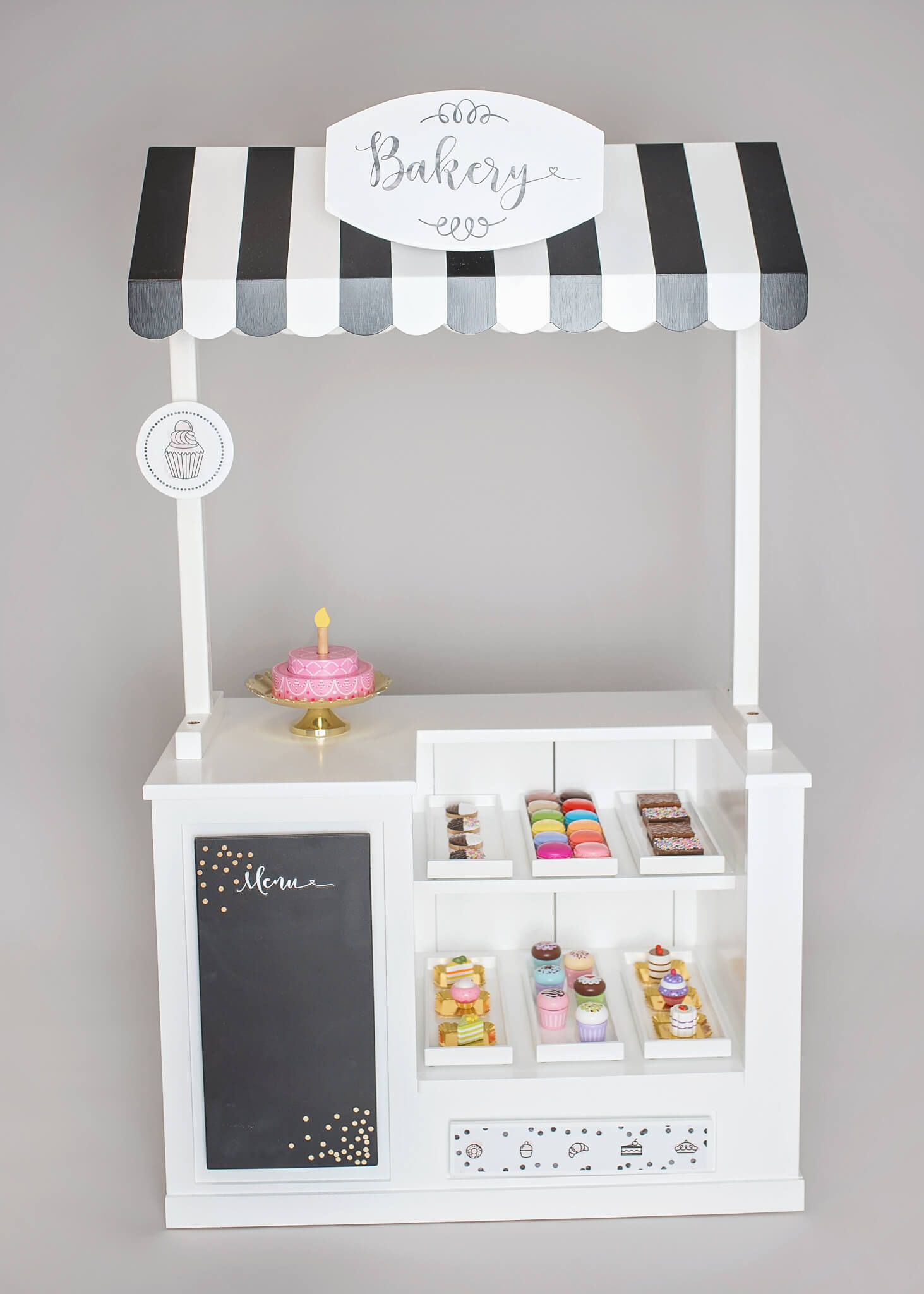 Bakery Play Stand Interchangeable Themes Styled By Mama
